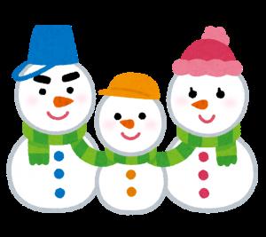 snowman_yukidaruma_family